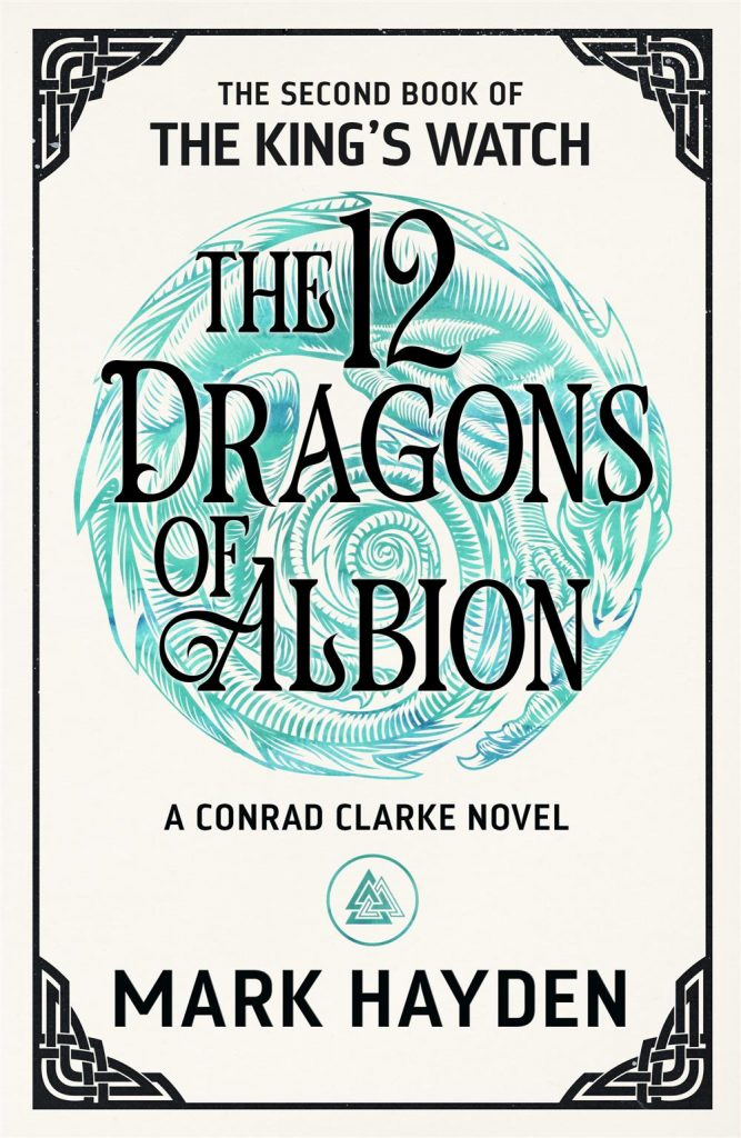 Cover for the 12 Dragons of Albion by Mark Hayden