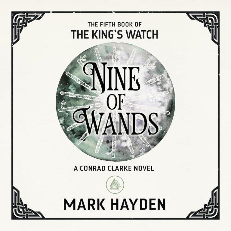 Nine of wands, mark hayden