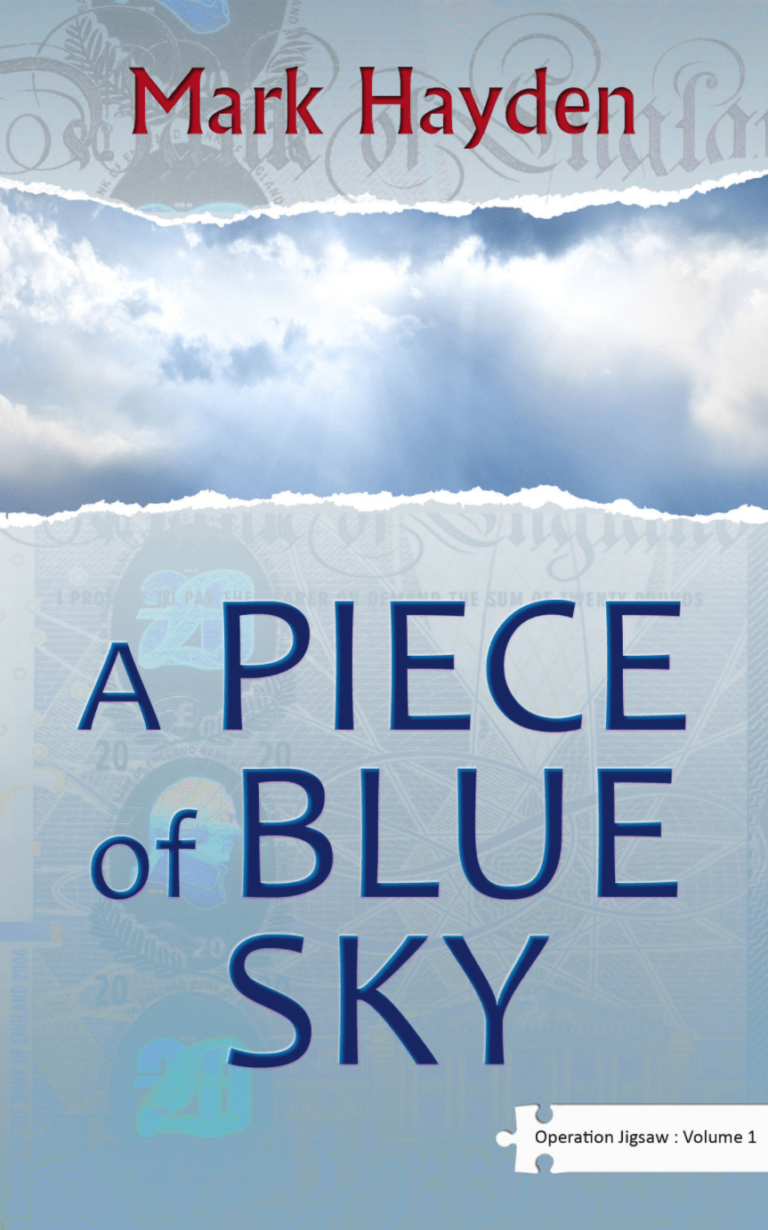 A Piece of Blue sky, Discover the Books of Mark Hayden